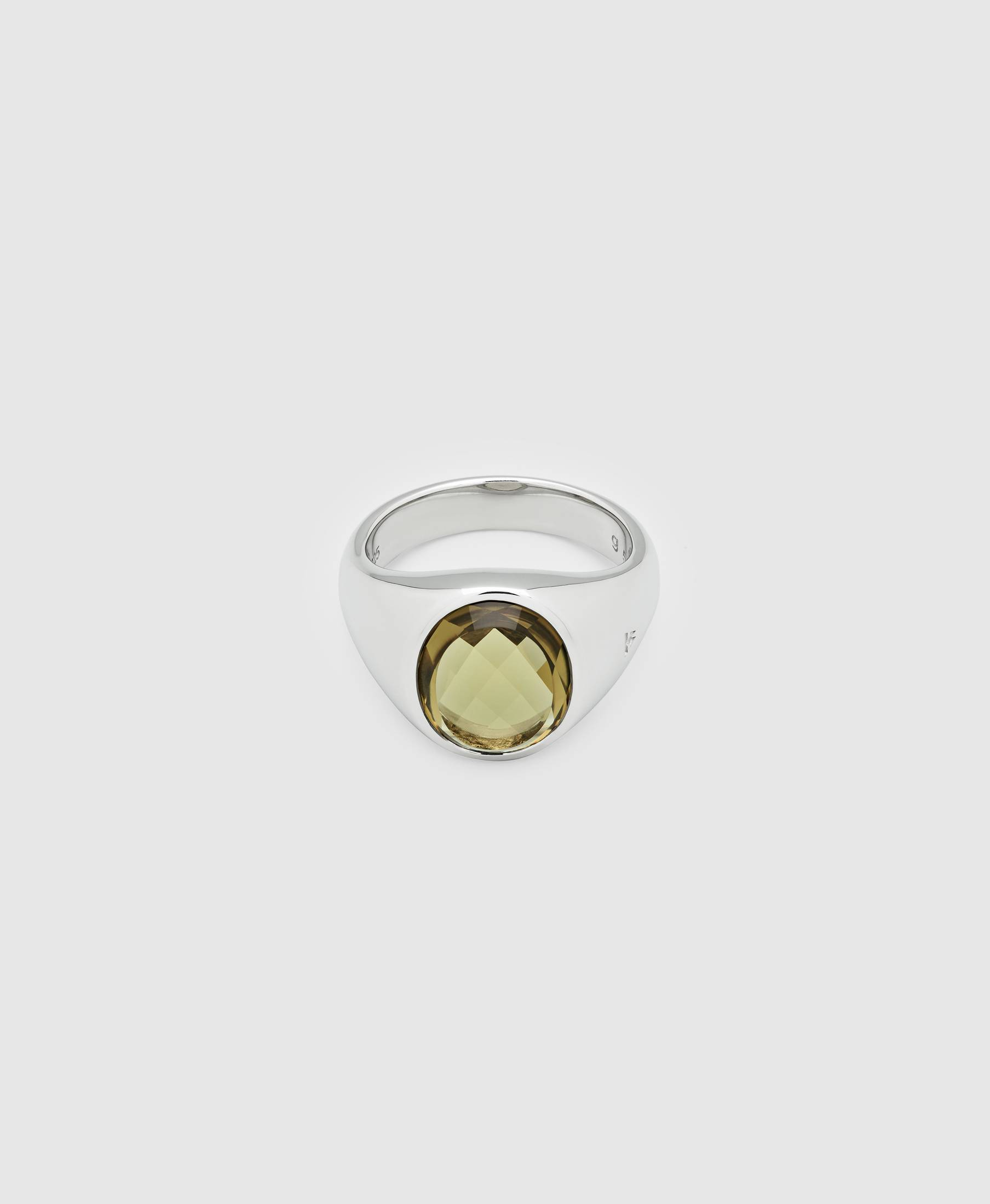 Lizzie Ring Olive Quartz