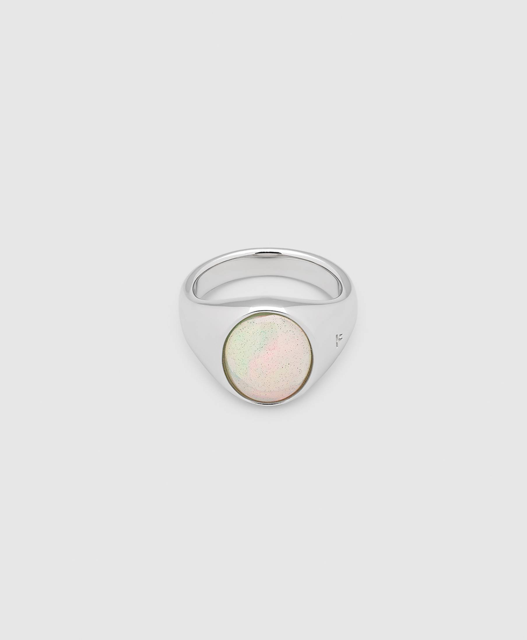 Dome Ring Opal
